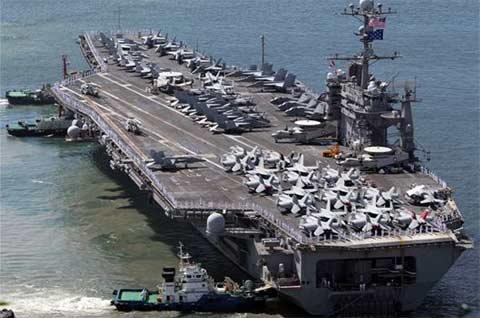 Hình ảnh Triều Tiên tức giận trước cuộc tập trận Mỹ - Hàn số 1
