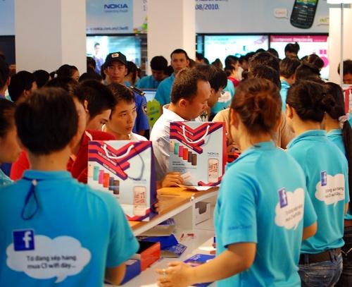 Hình ảnh Đổ xô đi mua Nokia C3 giảm giá và..thất vọng ! số 3
