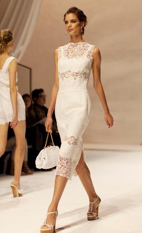 Hình ảnh Những mẫu váy lửng hấp dẫn nhất mùa thu đông 2010 số 13