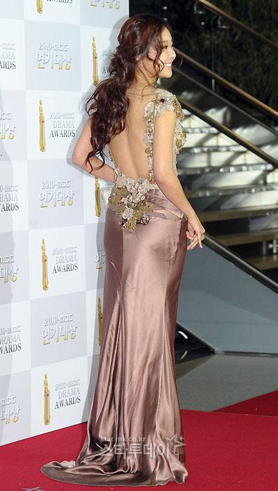 Sao lộng lẫy tại Lễ trao giải 'MBC Drama Awards 2010'