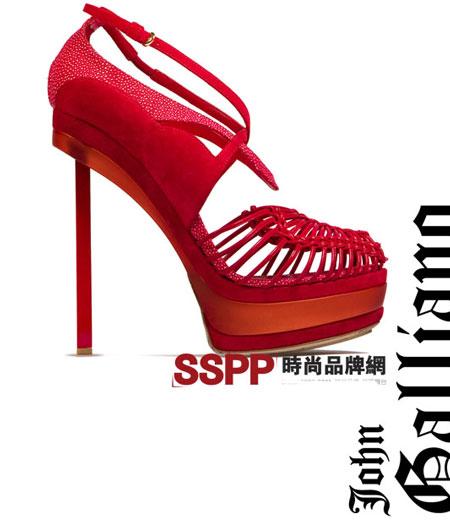 Hình ảnh Những mẫu giầy mới nhất 2011 của Hermes và John Galliano số 24