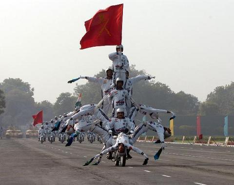 Hình ảnh Đến lượt Ấn Độ phô diễn sức mạnh quân sự số 5