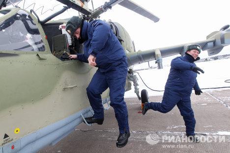 Hình ảnh - Ngắm máy bay trực thăng tấn công đa chức năng của Nga số 5
