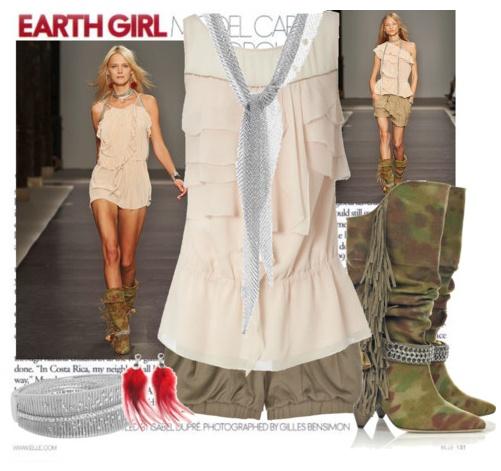 Hình ảnh Mix đồ sáng tạo với phong cách quân đội số 6