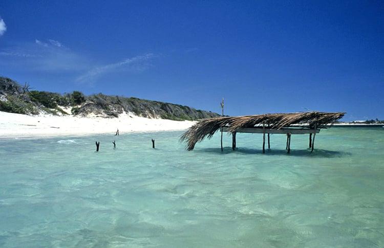 Hình ảnh thơ mộng của bãi biển Jericoacoara