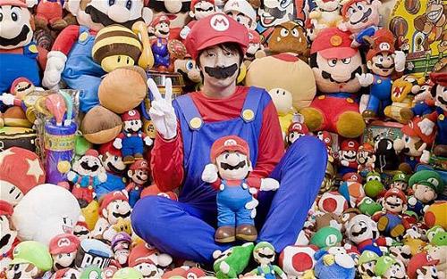 Fan cuồng của nhân vật Mario