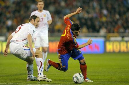 Hình ảnh Nhìn lại loạt trận vòng loại Euro 2012 đêm qua số 2