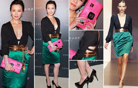 Hình ảnh Soi váy hiệu tuyệt đẹp của sao Hoa Ngữ số 5