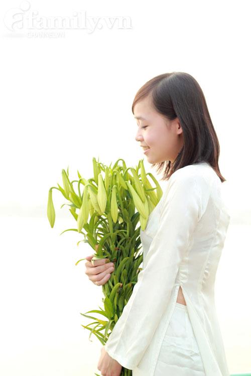 Hình ảnh Dịu dàng hoa loa kèn tháng tư số 14