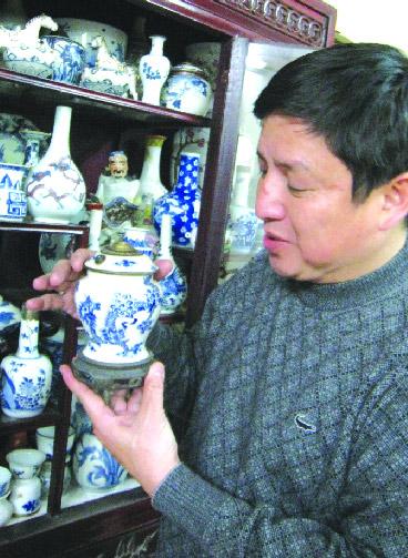 Hình ảnh Danh hài Chí Trung có hàng nghìn món cổ vật số 1