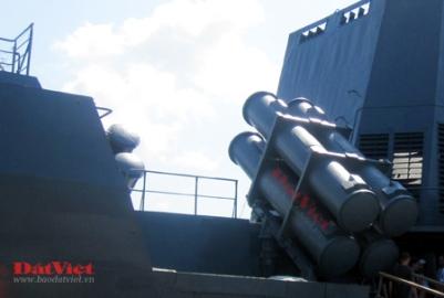 Hình ảnh Chiến hạm hiện đại nhất của Hải quân Nhân dân Việt Nam số 8