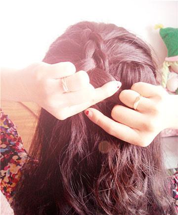 Hình ảnh 3 kiểu tóc tết đẹp mắt số 4
