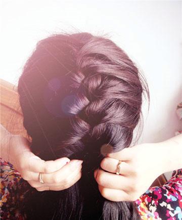 Hình ảnh 3 kiểu tóc tết đẹp mắt số 5