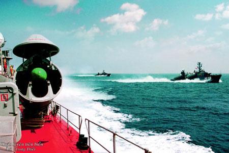 Hình ảnh Hải quân Việt Nam luyện tập bắn đạn thật số 11