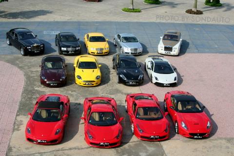 Hình ảnh Cận cảnh 13 siêu xe của các đại gia Hà Nội số 1
