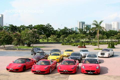 Hình ảnh Cận cảnh 13 siêu xe của các đại gia Hà Nội số 2