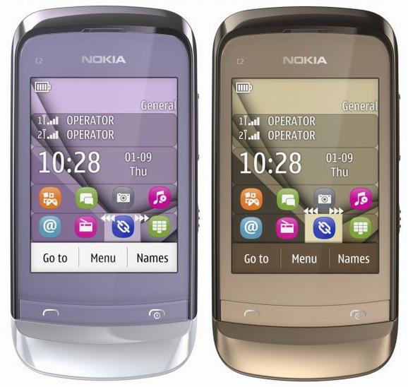 Hình ảnh Nokia giới thiệu 3 điện thoại dòng C2 mới: Nokia C2-02, Nokia C2-03 và Nokia C2-06 số 3