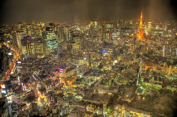 Hình ảnh 10 thành phố đông dân nhất thế giới số 1