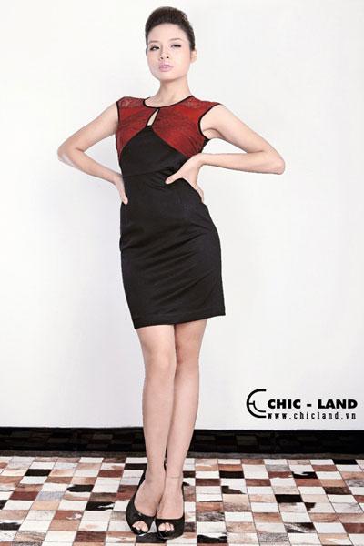 Hình ảnh Váy đầm Chic-Land phong cách đơn giản số 4