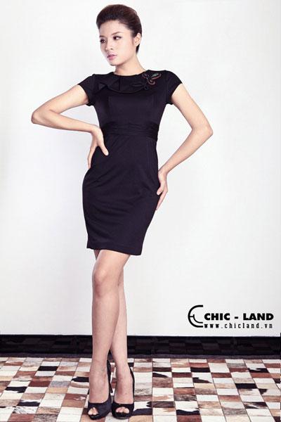 Hình ảnh Váy đầm Chic-Land phong cách đơn giản số 10