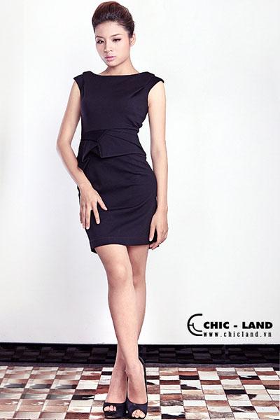 Hình ảnh Váy đầm Chic-Land phong cách đơn giản số 11