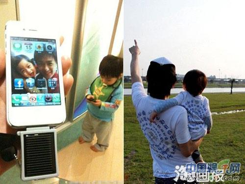 Hình ảnh Con trai Lâm Chí Dĩnh rất ngộ nghĩnh số 7