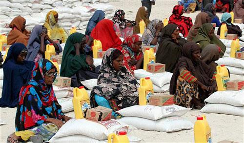 Hình ảnh Hình ảnh xúc động về nạn đói ở Somali số 15