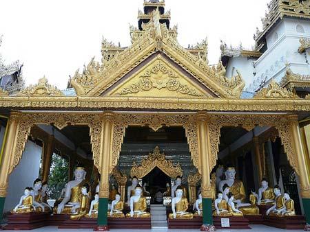 Hình ảnh Lộng lẫy chùa Vàng Shwedagon số 1