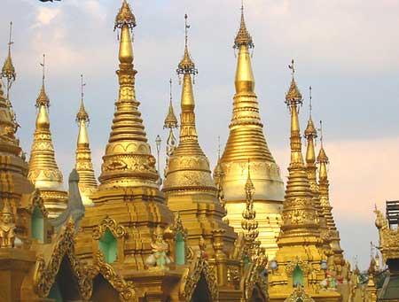 Hình ảnh Lộng lẫy chùa Vàng Shwedagon số 10