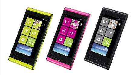 Hình ảnh Điện thoại đầu tiên chạy Windows Phone Mango số 5
