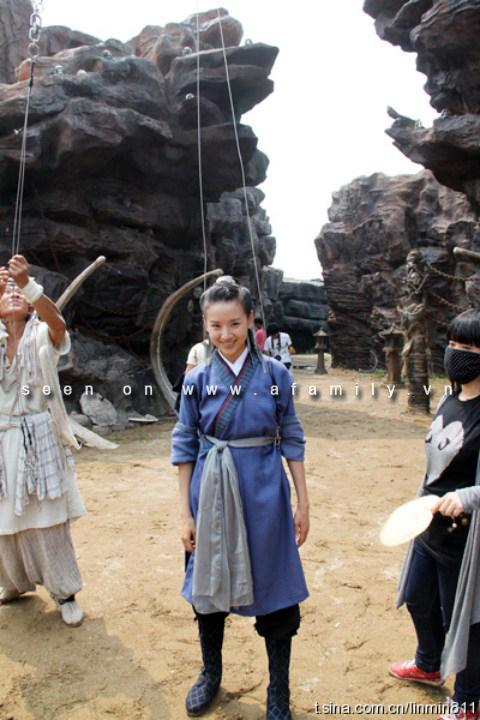 Hình ảnh Đổng Khiết trở thành mối tình đầu của chồng trên... phim số 16