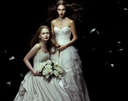 Hình ảnh Những mẫu váy cưới đẹp dành cho mùa cưới 2011 số 8