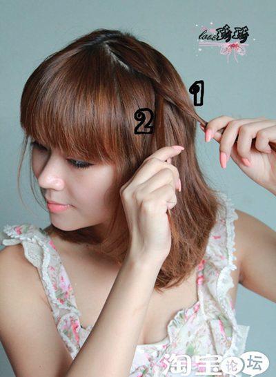 Hình ảnh Điệu với 2 cách tết tóc mới số 3