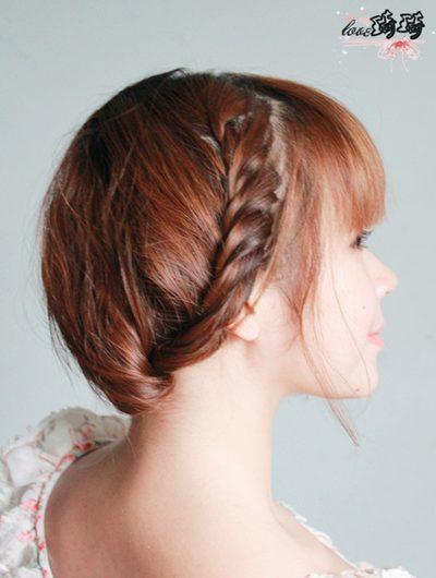 Hình ảnh Điệu với 2 cách tết tóc mới số 12