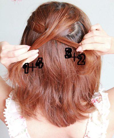 Hình ảnh Điệu với 2 cách tết tóc mới số 19