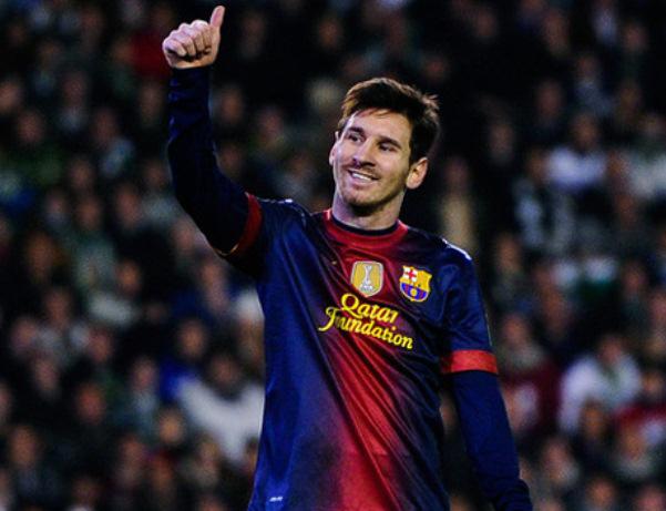 Messi gửi tin nhắn chúc mừng năm mới