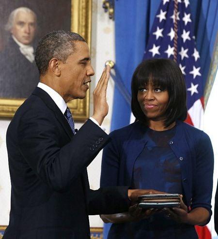 Hình ảnh Tổng thống Obama tuyên thệ nhậm chức số 4