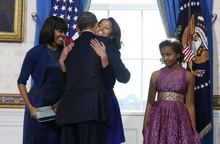 Hình ảnh Tổng thống Obama tuyên thệ nhậm chức số 6