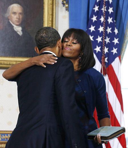 Hình ảnh Tổng thống Obama tuyên thệ nhậm chức số 7