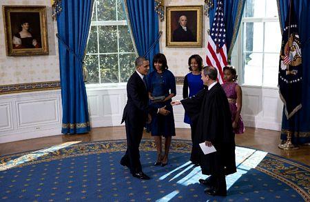 Hình ảnh Tổng thống Obama tuyên thệ nhậm chức số 8