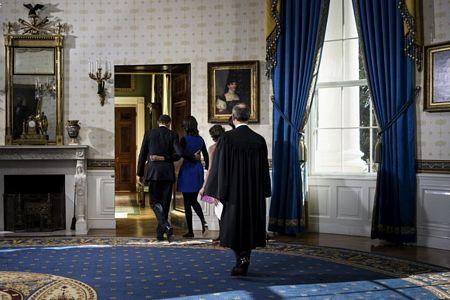 Hình ảnh Tổng thống Obama tuyên thệ nhậm chức số 9