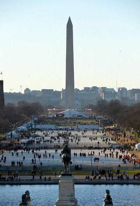 Hình ảnh Tổng thống Obama tuyên thệ nhậm chức số 11