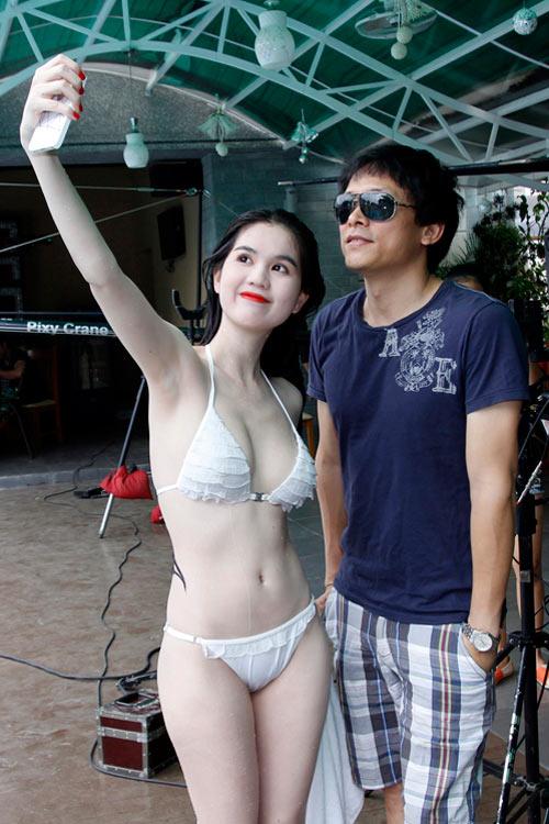 Hình ảnh Ngọc Trinh đốt nóng phim Tết 2013 số 14