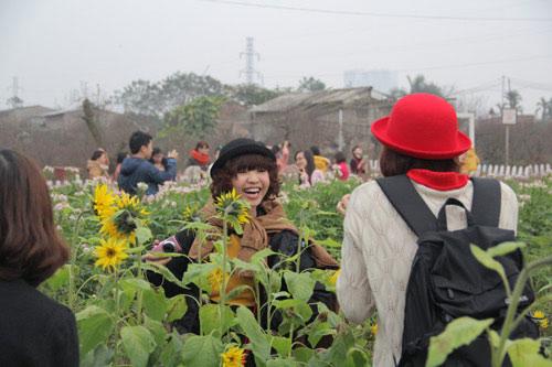 Hình ảnh Vườn hoa Bách Nhật hút khách ngày xuân số 5
