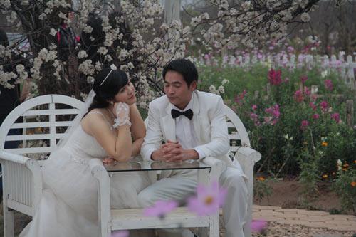 Hình ảnh Vườn hoa Bách Nhật hút khách ngày xuân số 7