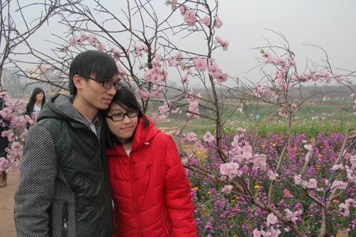 Hình ảnh Vườn hoa Bách Nhật hút khách ngày xuân số 11