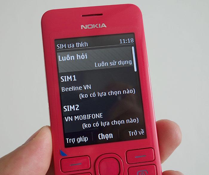 Hình ảnh Nokia 206 - Điện thoại hai SIM, chụp hình bằng giọng nói số 7