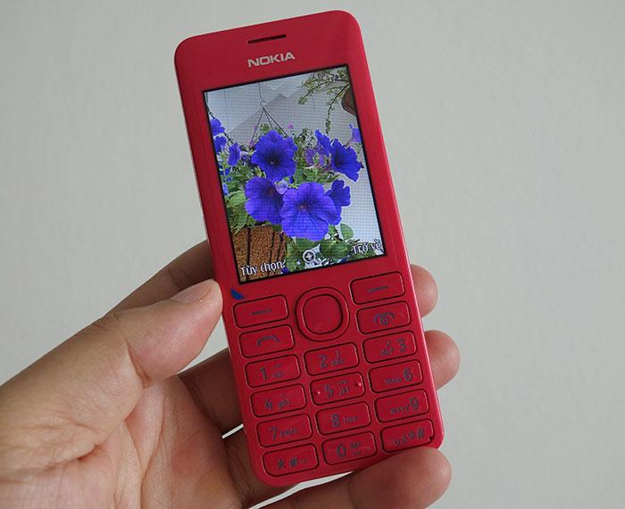 Hình ảnh Nokia 206 - Điện thoại hai SIM, chụp hình bằng giọng nói số 8