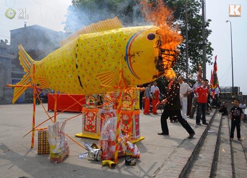 Hình ảnh Lễ hội ông Công ông Táo lớn nhất Việt Nam số 14