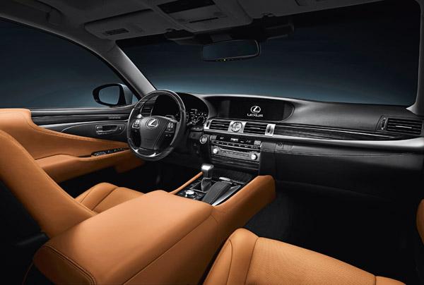 Hình ảnh Đánh giá Lexus LS460 Luxury số 3